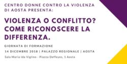 Violenza o conflitto? Come riconoscere la differenza